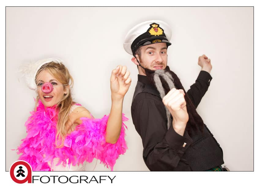 Wedding-photo-booth-during-the-edinburgh-wedding