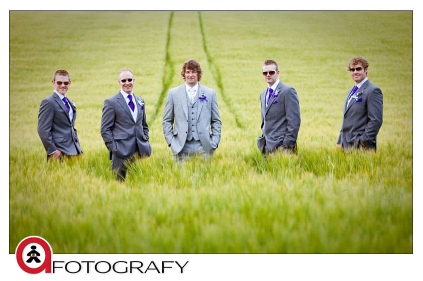 groomsmen-in-dalhousie-castle-wedding-venue