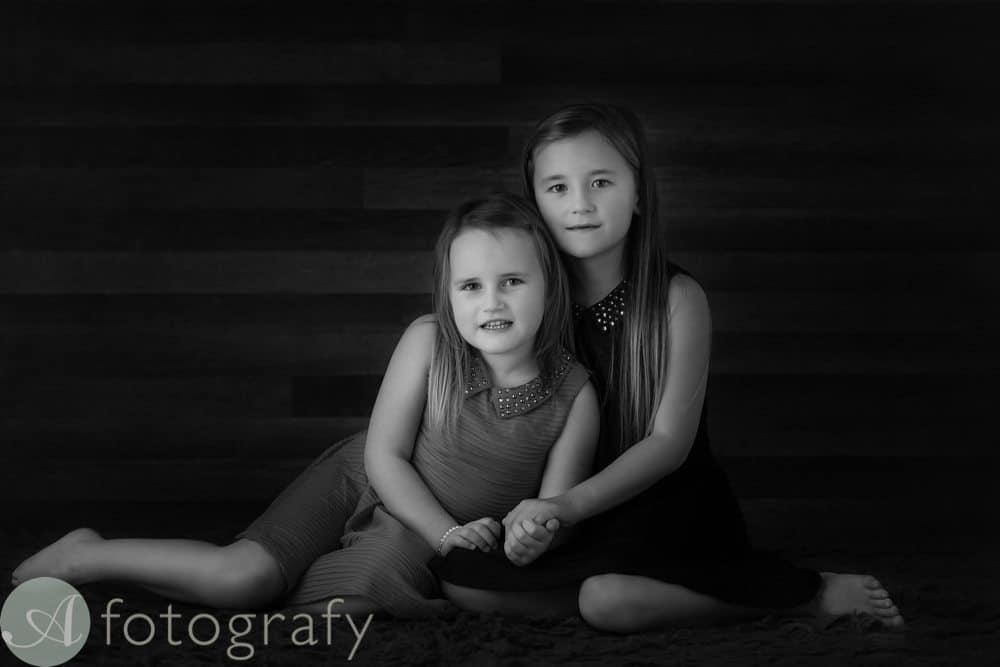 black and white children portraits 3