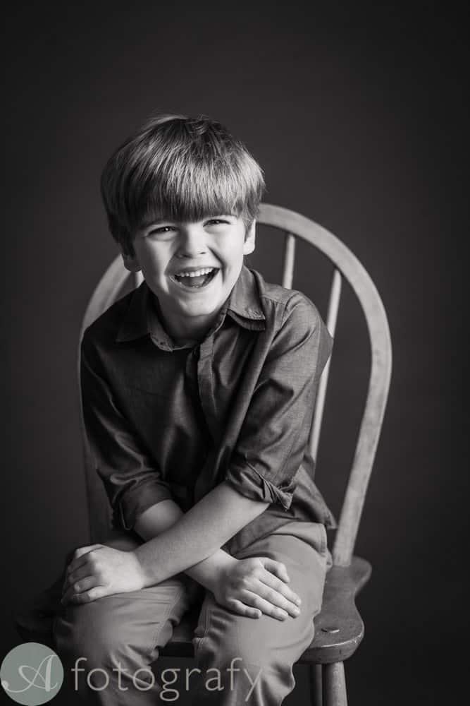black and white children portraits 4