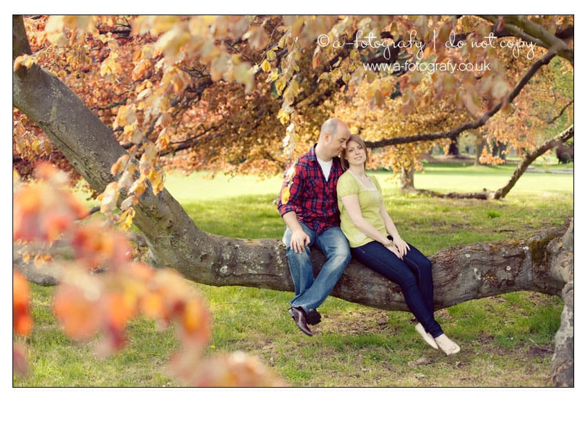 Couple-engagement-photography-at-Carberry-tower-near-Edinburgh