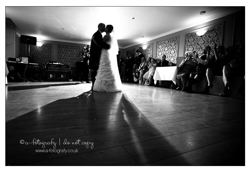 First-wedding-dance-at-carberry-tower-Edinburgh