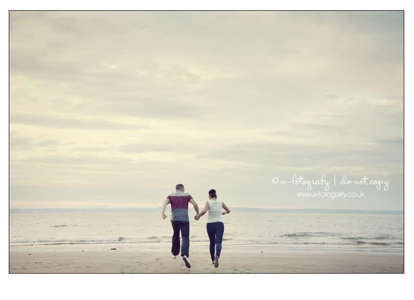 Gullane-beach-pre-wedding-portrait-photo-session