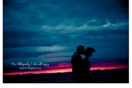 Sunset-pre-wedding-portrait-photography