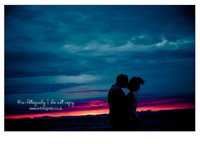 Sunset-pre-wedding-portrait-photography