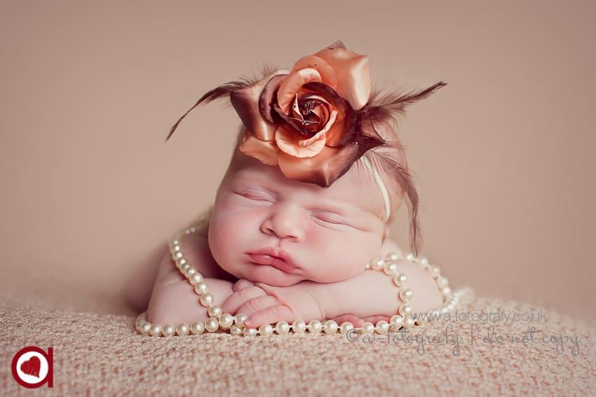 Fife newborn portrait photography