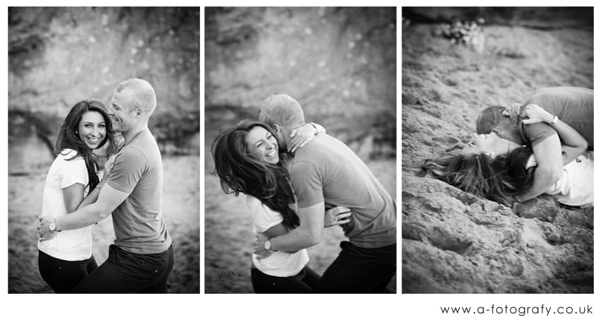 Fun couples portraits in Edinburgh