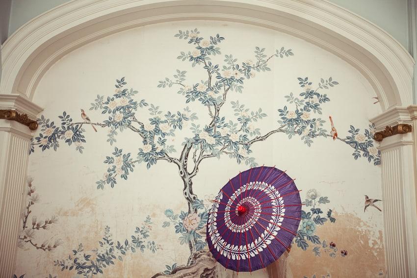 Japaneese themed wedding in Scotland