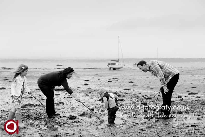 Blackness beach family and children portrait photographer.