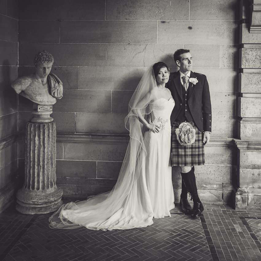 Solsgirth house wedding photography in Fife