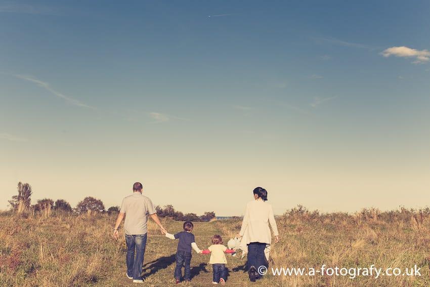 Edinburgh family portrait sessions photography