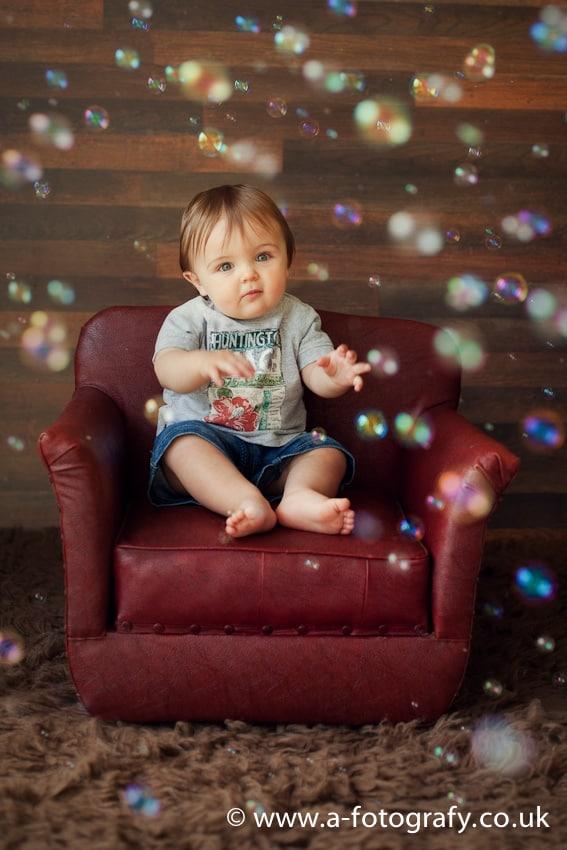 Edinburgh Toddler photo studio