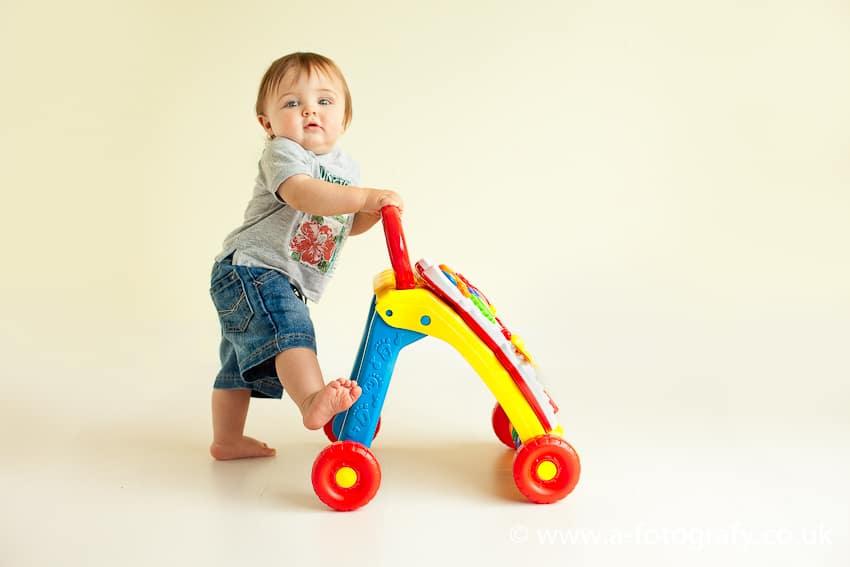 Scotland Toddler photo studio