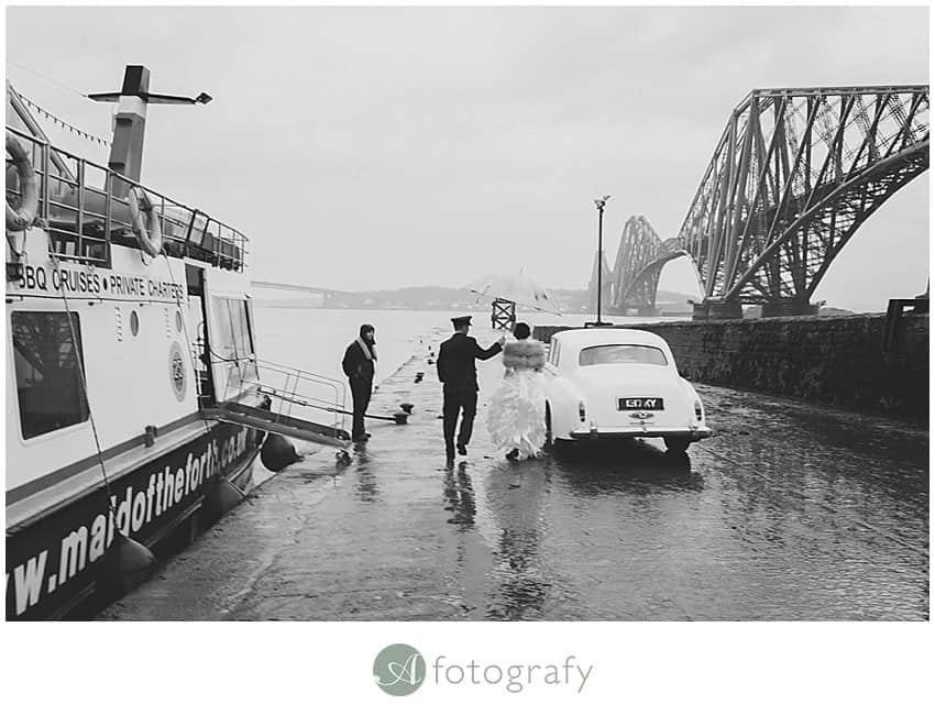 Edinburgh wedding photography - Inchcolm island abbey-1