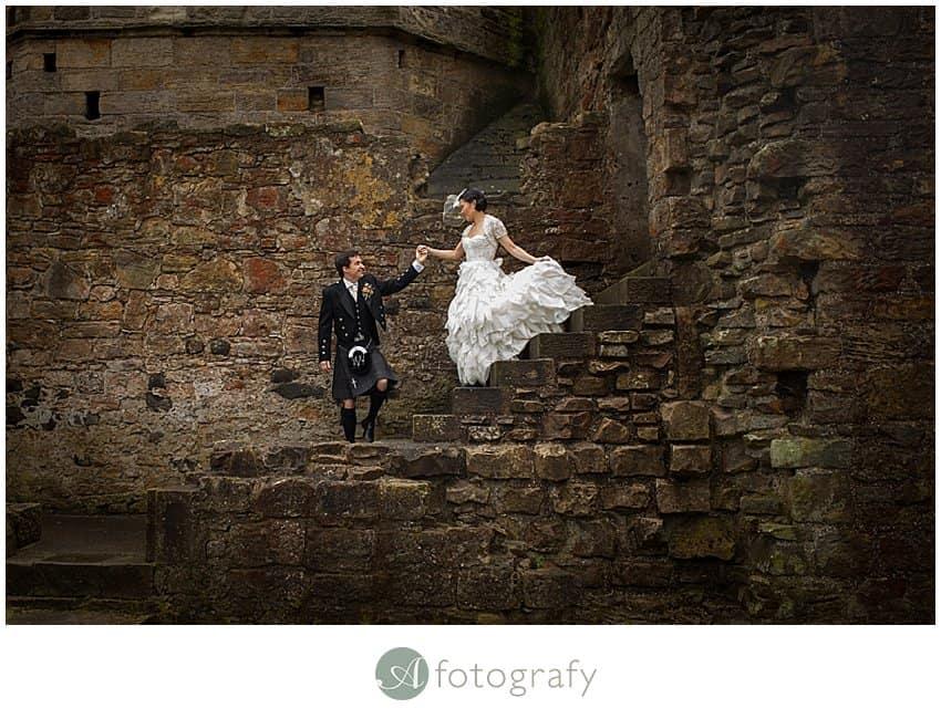 Edinburgh wedding photographer - Inchcolm island abbey-10
