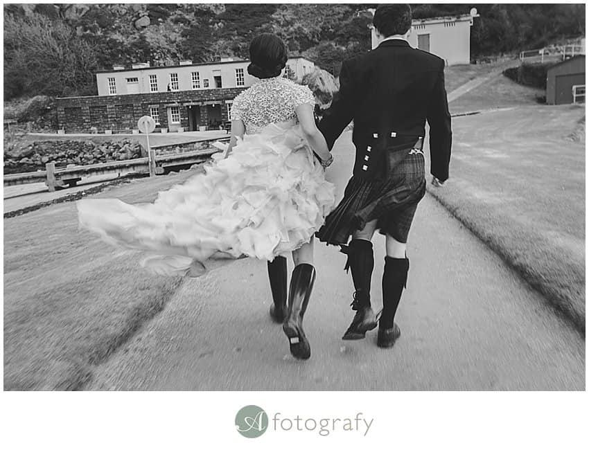 Edinburgh wedding photographer - Inchcolm island abbey-13