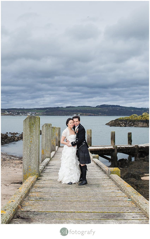 Edinburgh wedding photography - Inchcolm island abbey-14