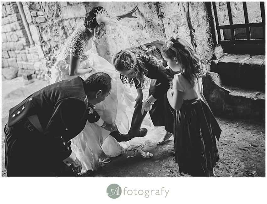 Edinburgh wedding photographers- Inchcolm island abbey-5