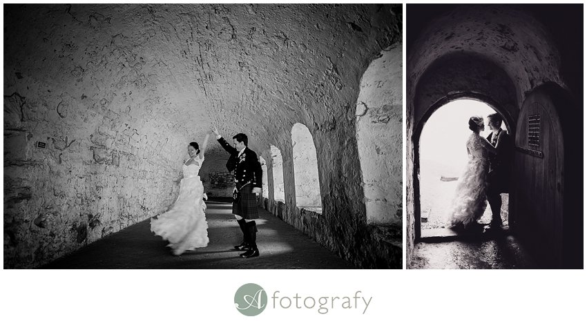 Edinburgh wedding photographer - Inchcolm island abbey-8