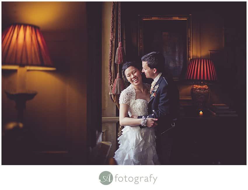 Edinburgh wedding photographer - Prestonfield house-1