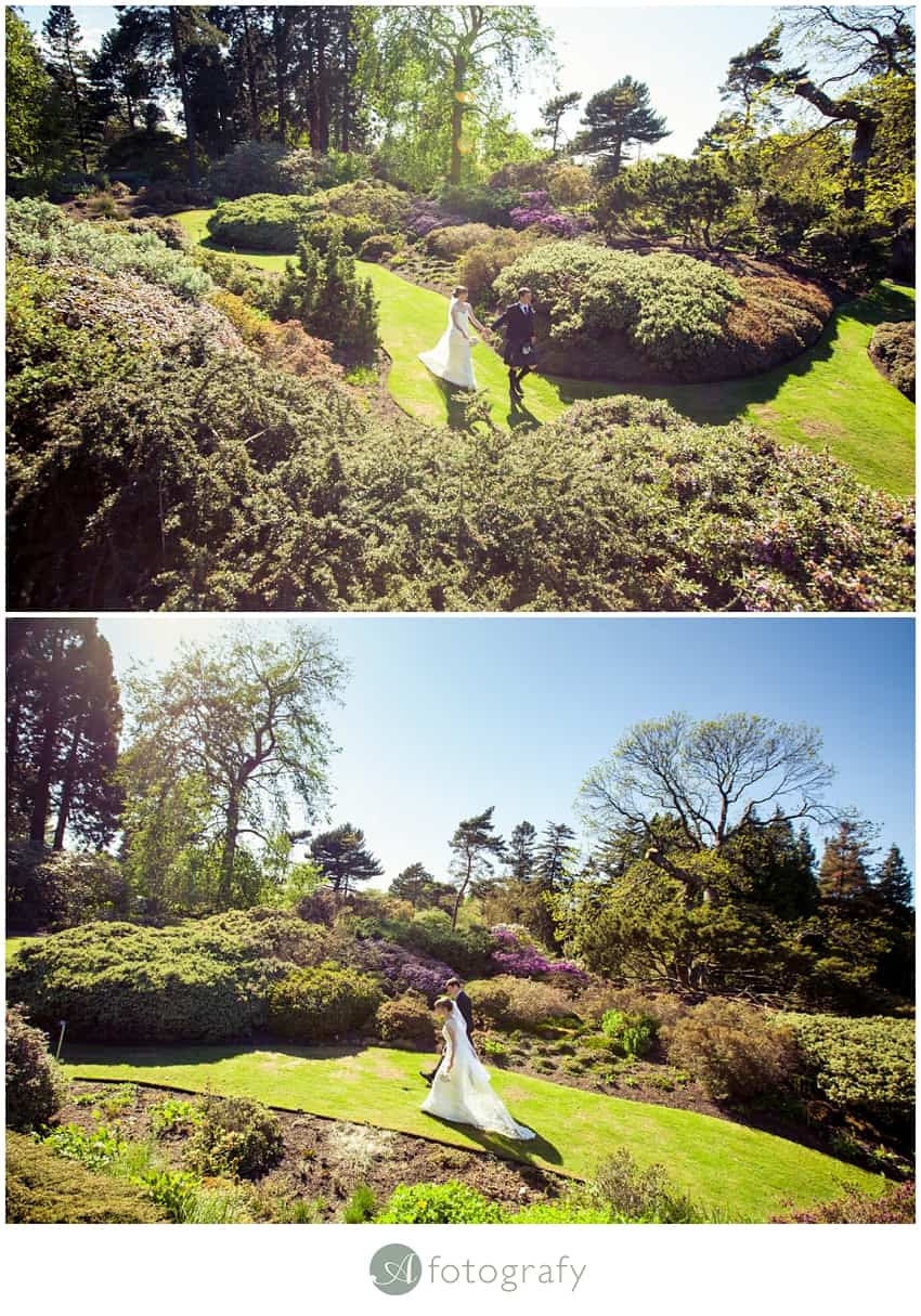 Edinburgh botanic gardens wedding photography-25