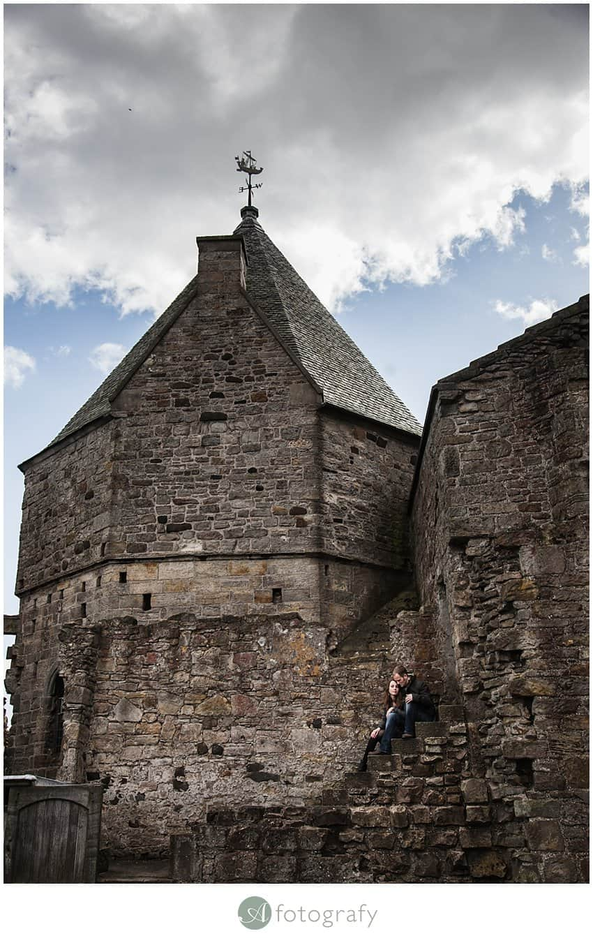 Inchcolm island engagement photography-7