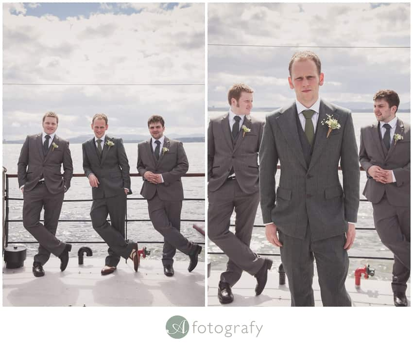 Inchcolm island wedding photography-1