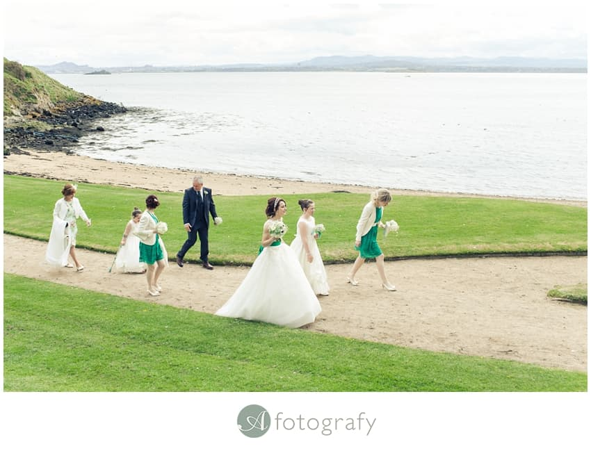 Inchcolm island wedding photography-10