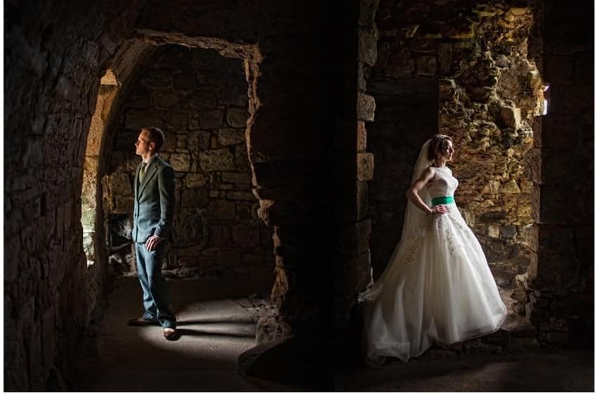 Inchcolm Island wedding photography   Sally and Chris 17