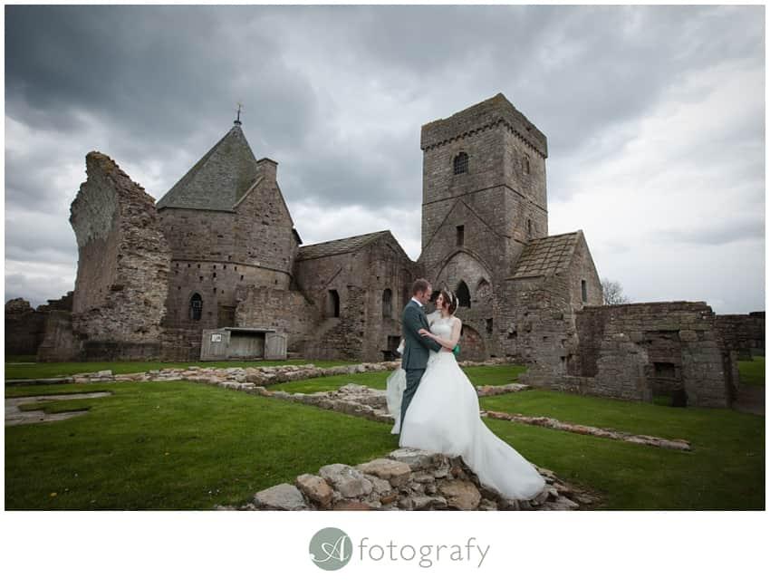 Inchcolm island wedding photography-23