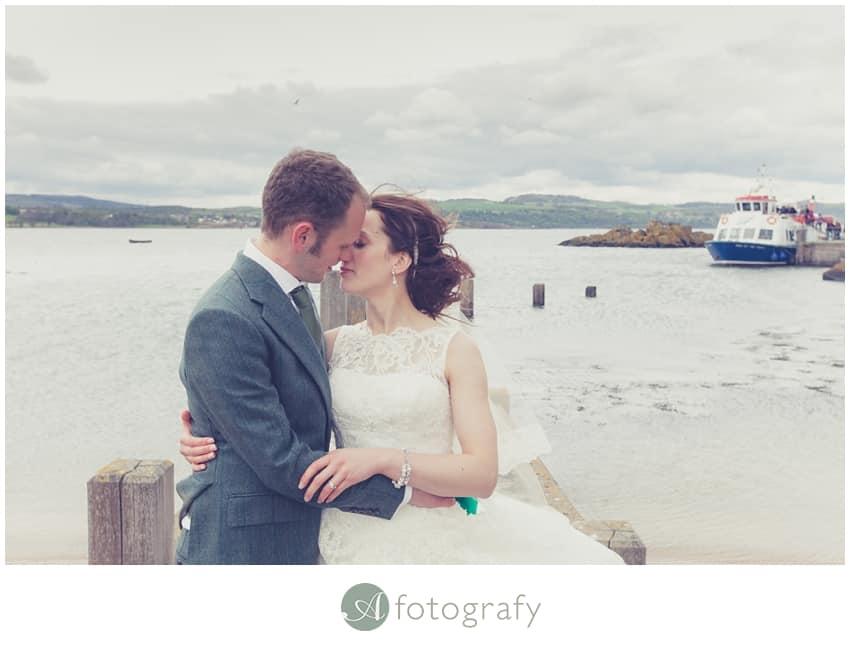 Inchcolm island wedding photography-25
