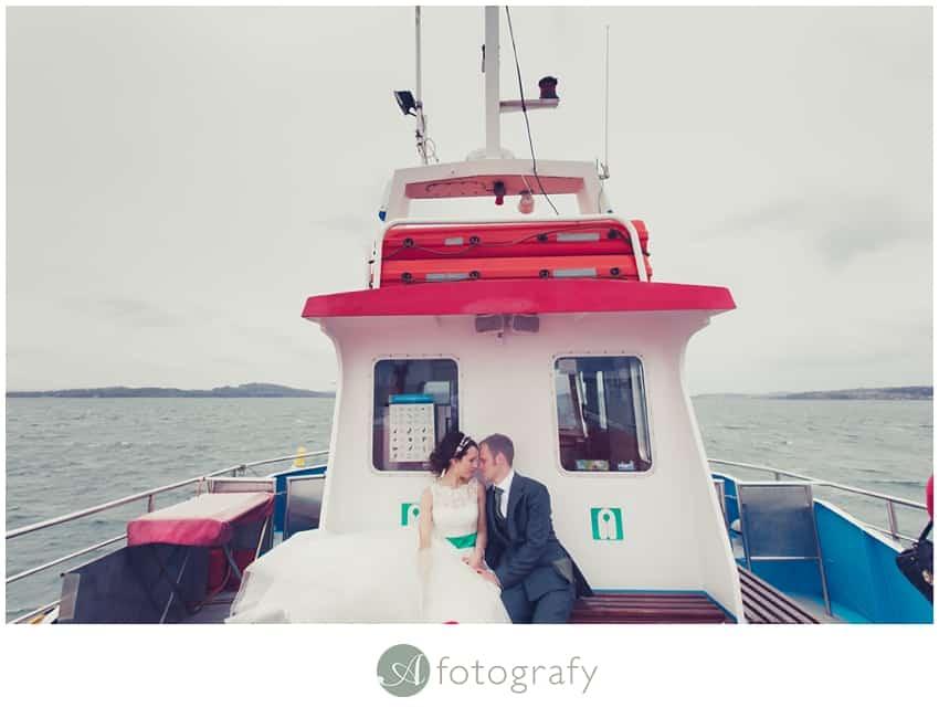Inchcolm island wedding photography-28