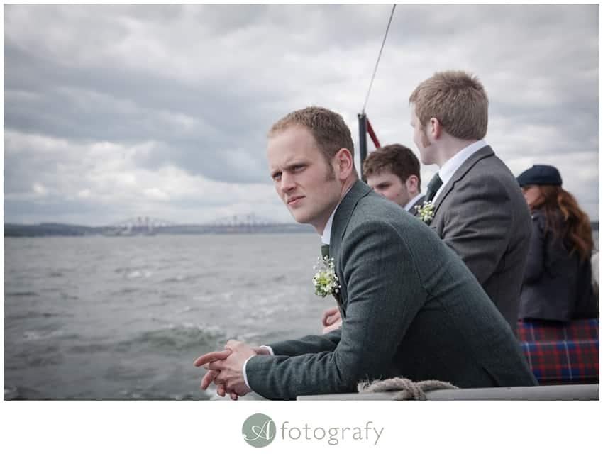 Inchcolm island wedding photography-3