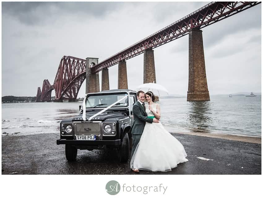 Inchcolm island wedding photography-33
