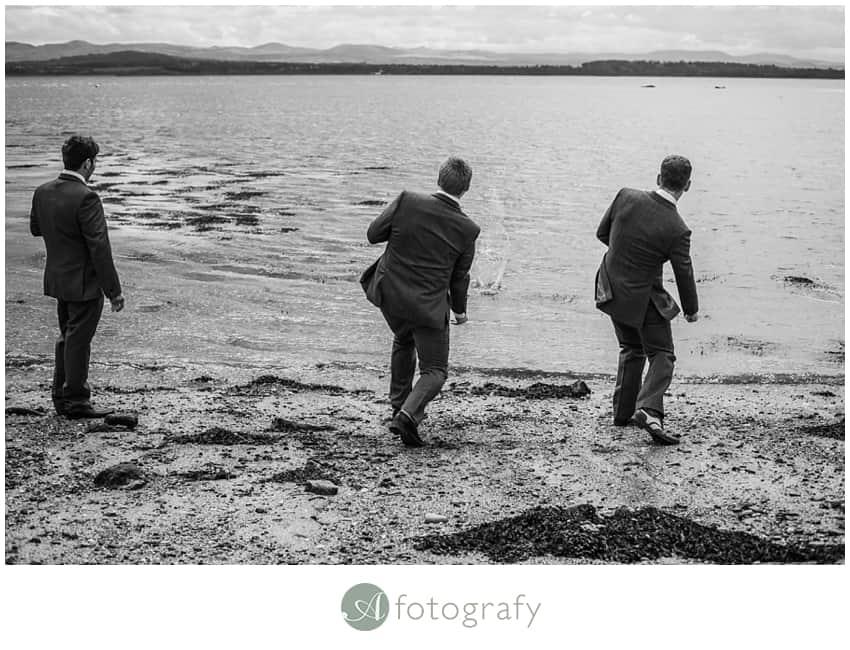 Inchcolm island wedding photography-4