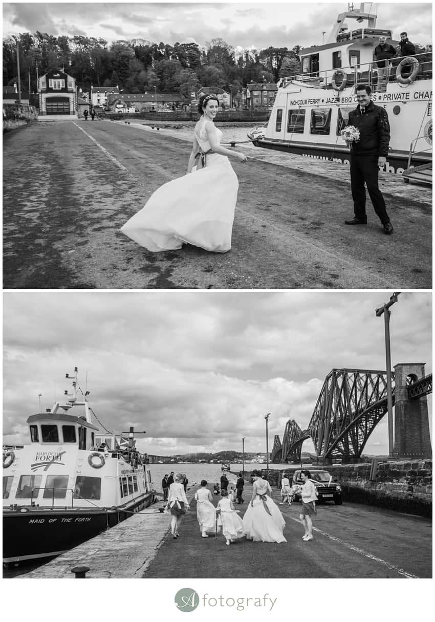 Inchcolm island wedding photography-5