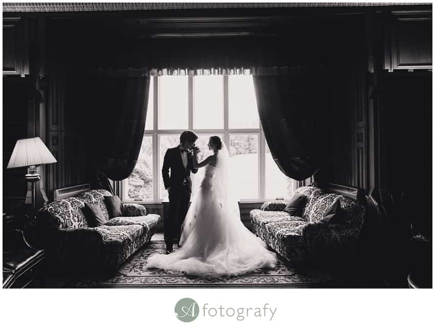 Scottish Hong Kong wedding photography at Dalhousie castle