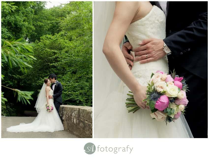 Scottish wedding photography Dalhousie Castle
