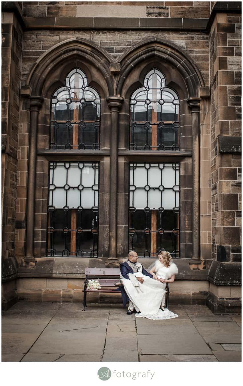 Glasgow University Chapel Wedding