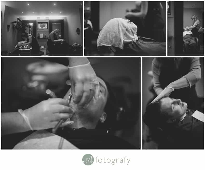 Edinburgh wedding photography studio