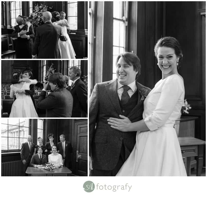 Edinburgh lothian Chambers wedding photography