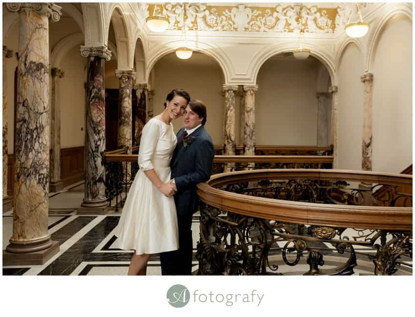 Edinburgh lothian Chambers wedding photographers