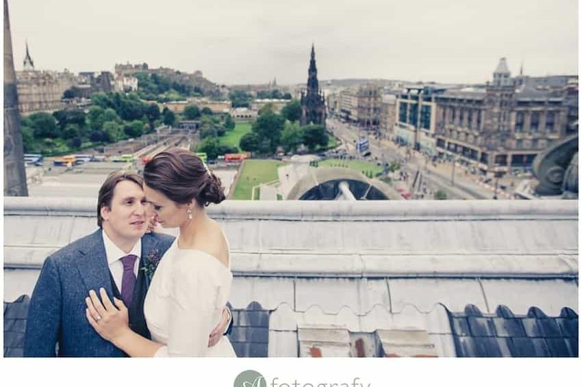 Scottish Canadian wedding photography | Edinburgh 8