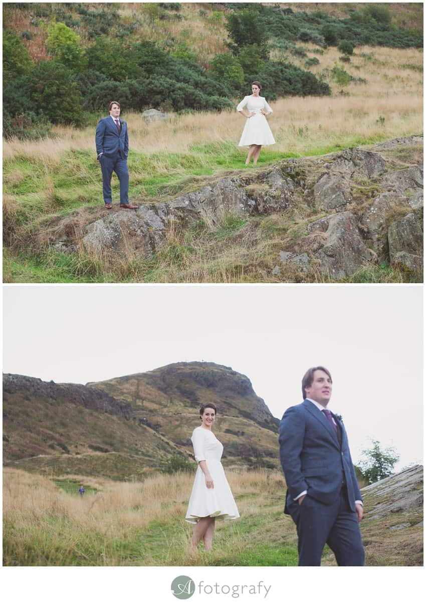Scottish Canadian wedding photography Edinburgh-098