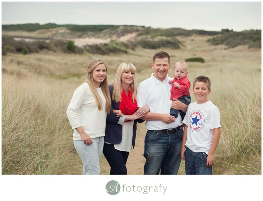 family portrait photography gullane