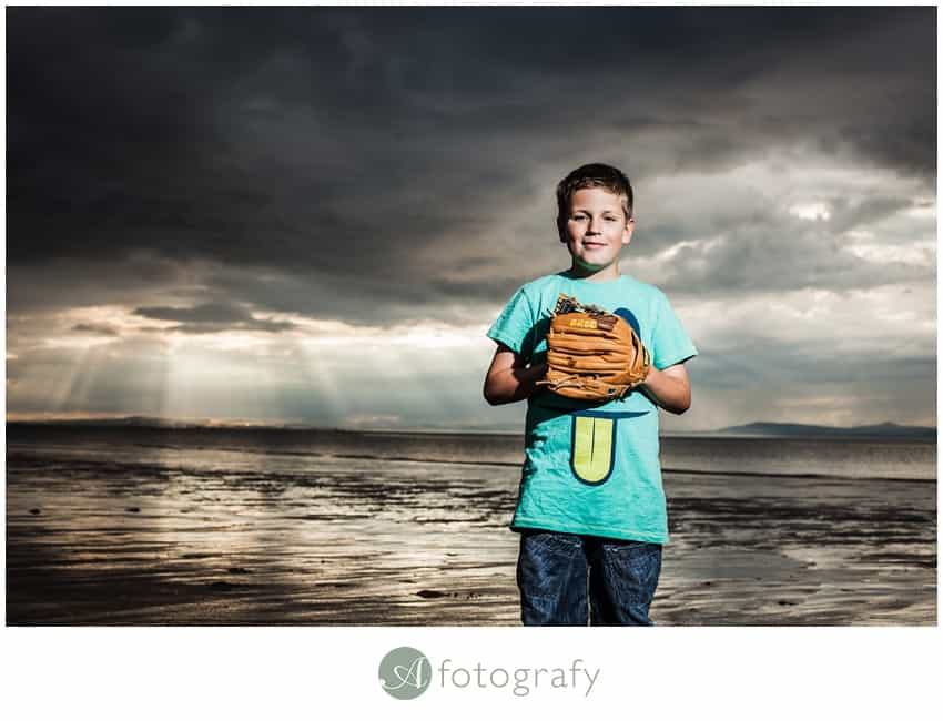 family photo session in east lothian gullane beach