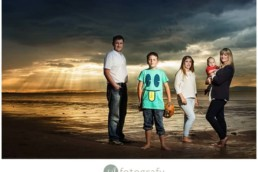 Photo session on Gullane beach 1
