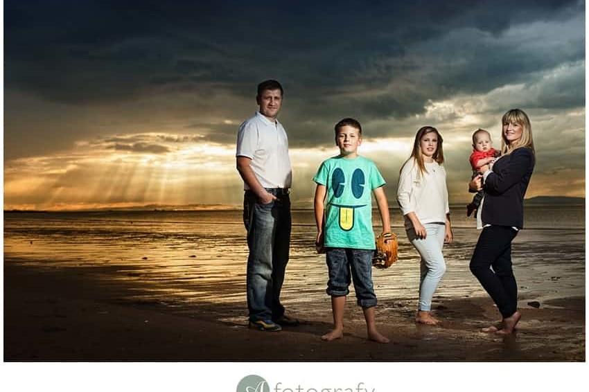 Photo session on Gullane beach 43
