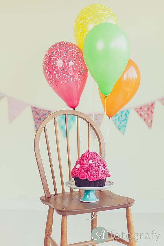First Birthday Cake Smash Photography | Sophia-Belle 51