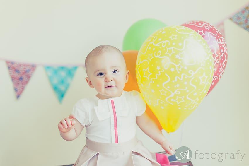 First Birthday Cake Smash Photography | Sophia-Belle 53